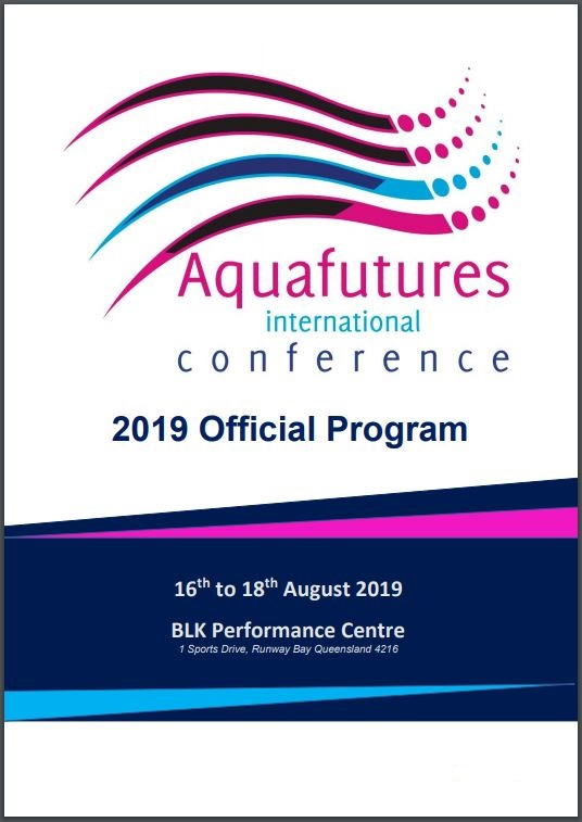 Download the Aquafutures International Conference 2019 Official Program